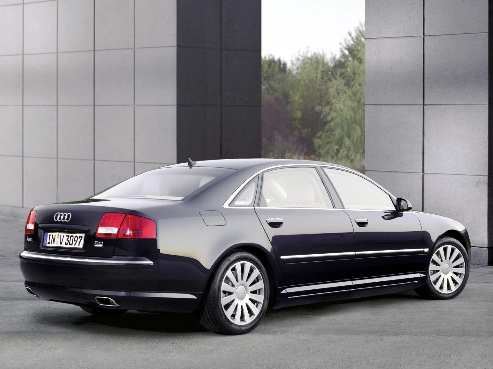 black Audi A8 wallpaper