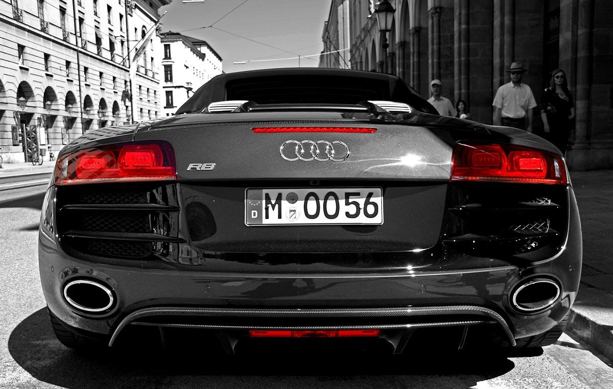 Audi r8 spyder HD Wallpaper Download